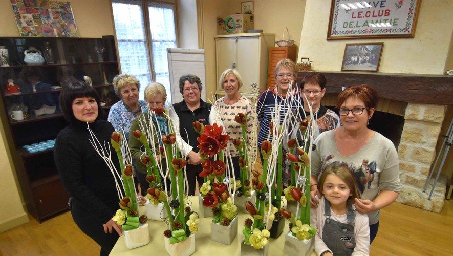 Un atelier floral autour d'une fleur de saison l'amaryllis.
