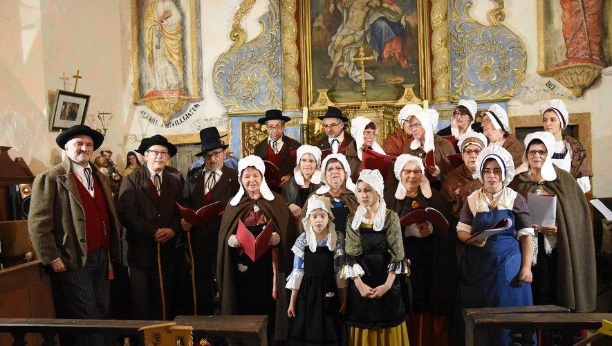 Des crèches du monde à l'église de Calmont-d'Olt