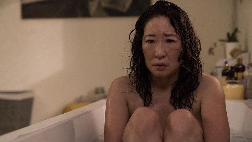 """Sandra Oh incarne Eve Polastri dans """"Killing Eve""""."""