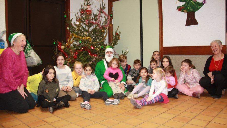 Le père Noël Vert toujours solidaire