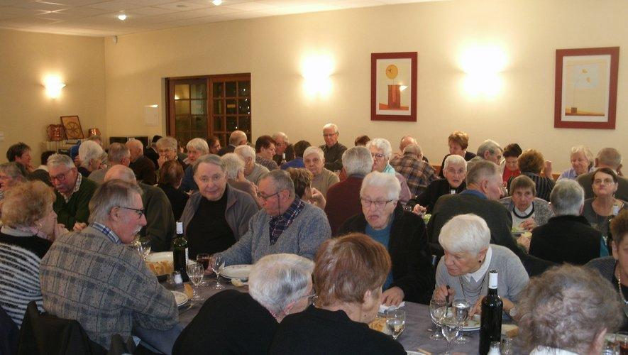 La municipalité a convié ses aînés autour d'une bonne table