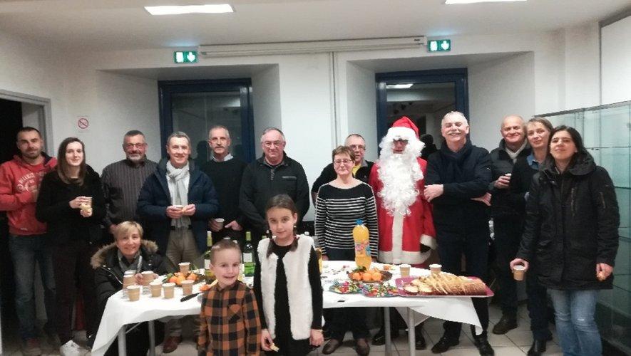 Le personnel communal a fêté Noël