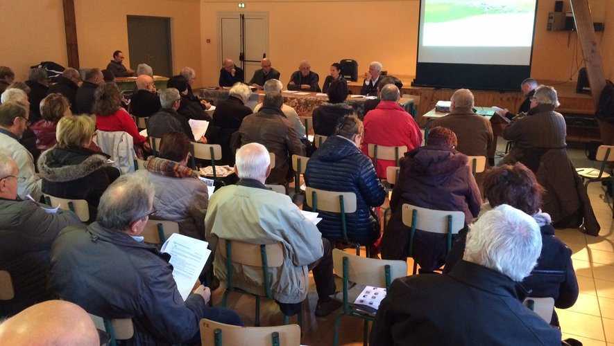 Le comité syndical s'est réuni pour la dernière fois de l'année à Prades-d'Aubrac.  Un des objectifs est de mettre en valeur toutes les beautés  du plateau.