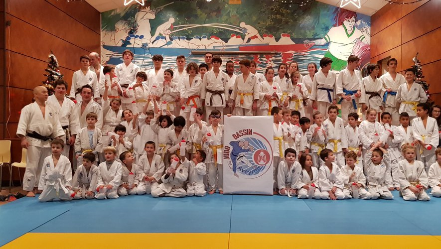 Une belle fête de fin d'année au Judo Bassin Aveyron
