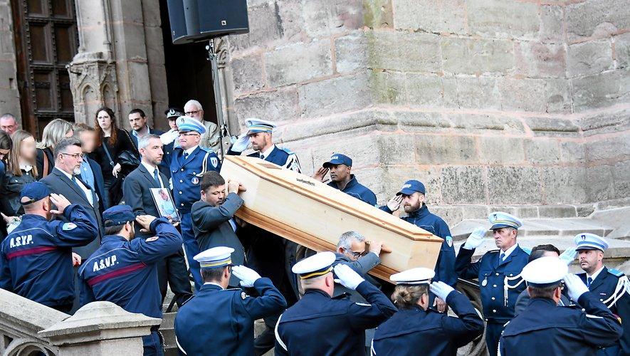 Un hommage national a été rendu à Pascal Filoé, jeudi 4 octobre.