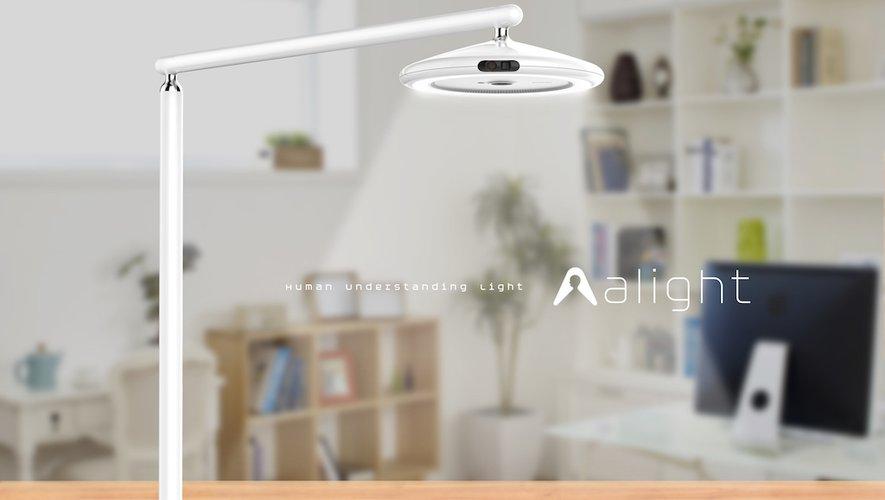 'alight,' un projet que Samsung C-Lab présentera au CES 2019.