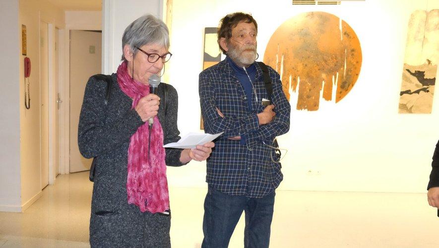 Un vernissage émouvant où le souffle de l'artiste était au cœur des visiteurs.