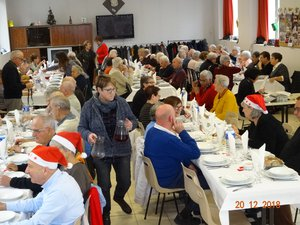 Les Aînés de Saint-Roch ont fêté Noël