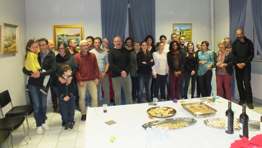 Vendredi soir, à la mairie, la municipalité invitait son personnel à partager en famille un avant-goût de Noël.