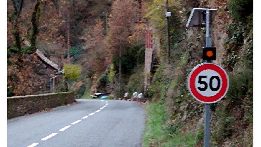 Entrée du village de Lincou.