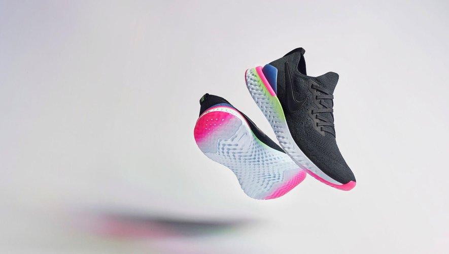 Nike Epic Flyknit 2 en version 'Pixel'