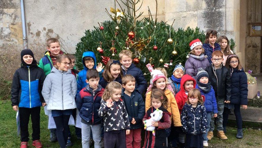 Un Noël actif pour les écoliers avec la réalisation d'un conte