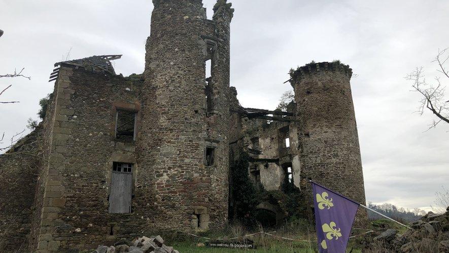 « Sauver ce château est le but de ma vie », dit Christian Dessalles