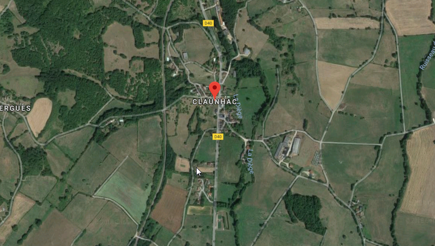 Les faits se sont produits dans une maison du hameau de Claunhac.