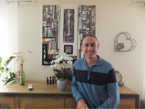 Gilane Barret pour des vacances en famille à Flavin.