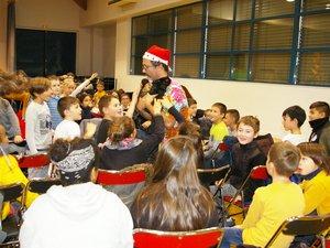 Ivan a présenté Bella et Kirikouà son jeune public.