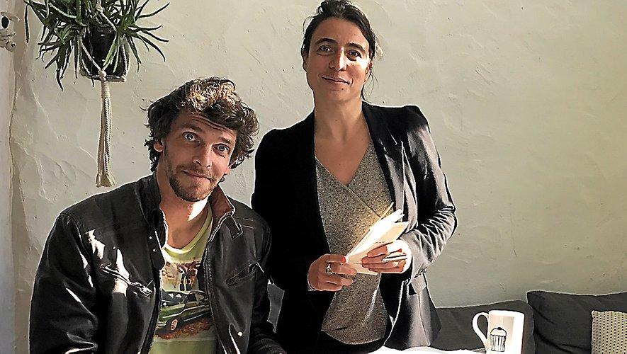 Guilhem Artieres et Sarah Carlini ont déjà travaillé ensemble sur d'autres projets.