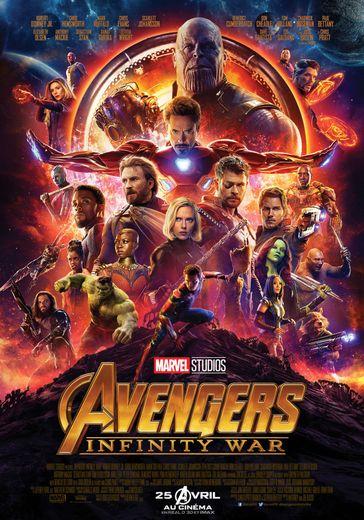 """""""Avengers : Infinity War"""" était le film le plus attendu de l'année 2018 selon le sit d'IMDB."""