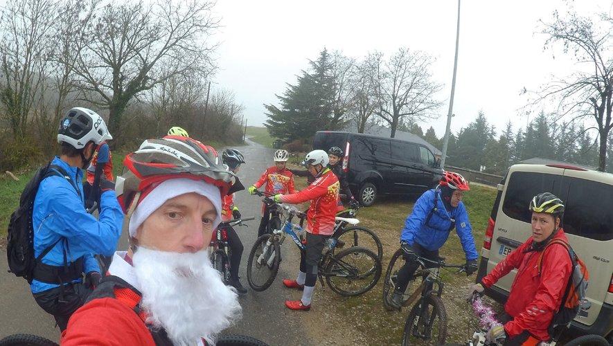 Une dernière sortie en compagniedu père Noël.