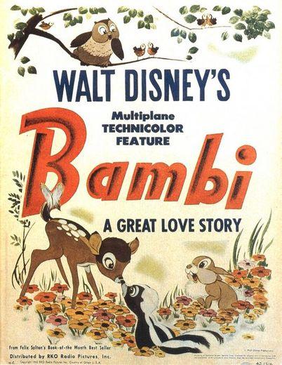"""En 1942, Don Lusk était l'animateur derrière le succès de """"Bambi""""."""