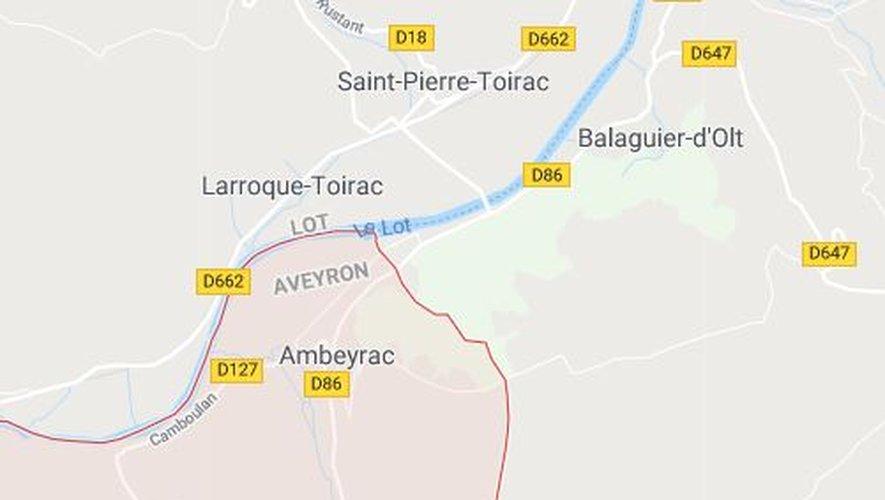 Les faits se sont produits dans un gîte rural, à Camboulan, village de la commune d'Ambeyrac située aux portes du Lot.