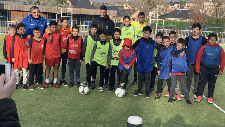 Les éducateurs d'Onet-le-Château Football ont encadré les mini-tournois.