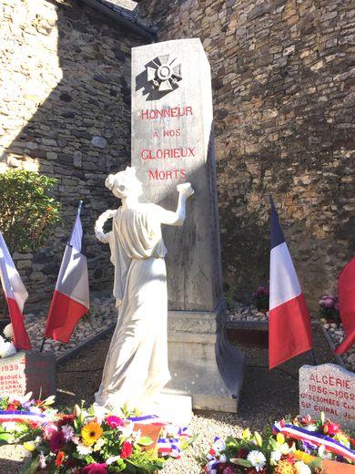 L'historique du monument aux morts inauguré en 1923