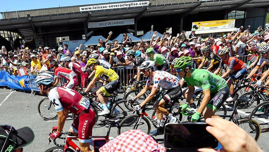 Lors de la 10e étape du Tour de France, le peloton traversera l'Aveyron du nord à l'ouest.