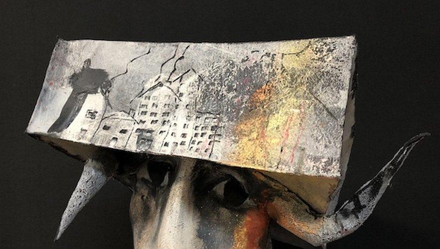 La sculpture, l'art de Nadine Vergues.