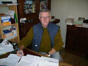 Jean Auriac, délégué cantonal du Téléthon.