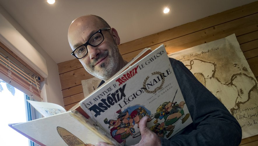 Jean-Yves Ferri est le nouvel auteur des aventures d'Asterix