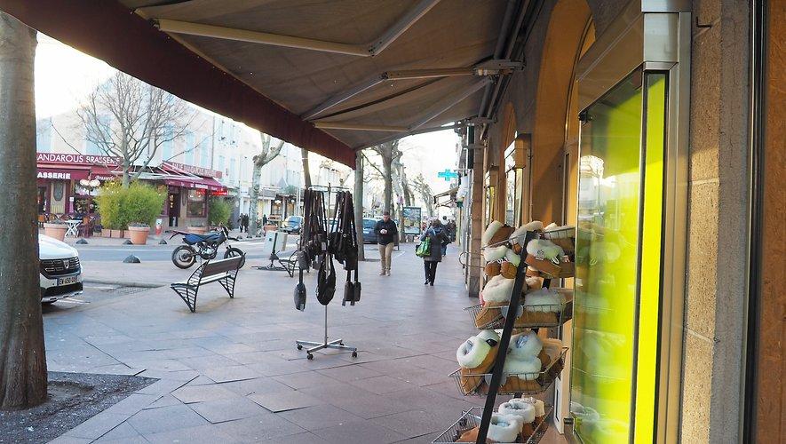 Les commerces du centre-ville boudés en décembre