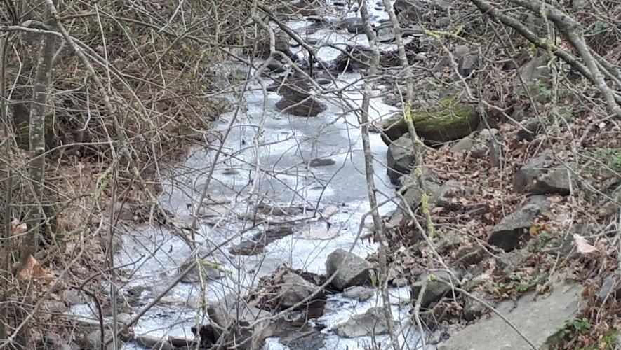 Ce froid qui fait geler les petits ruisseaux