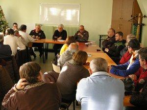 Une quarantaine de licenciés a participé à cette réunion.