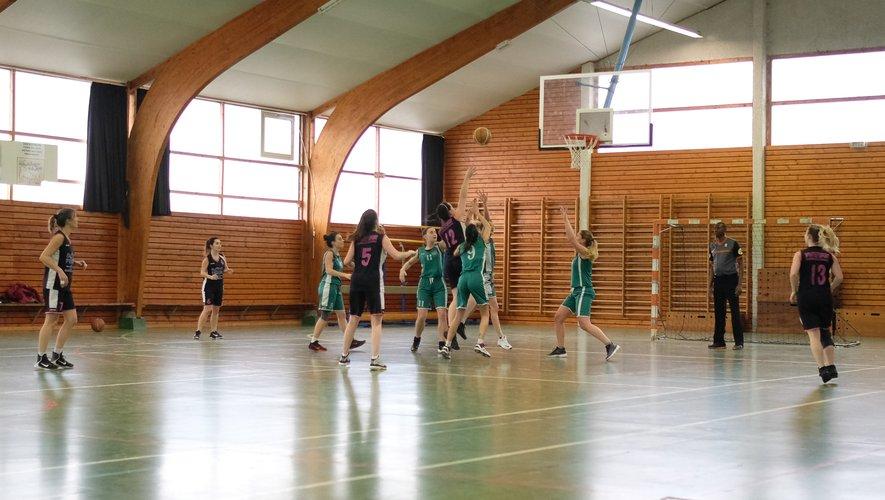 L'équipe féminine senior gagnante ce week-end.