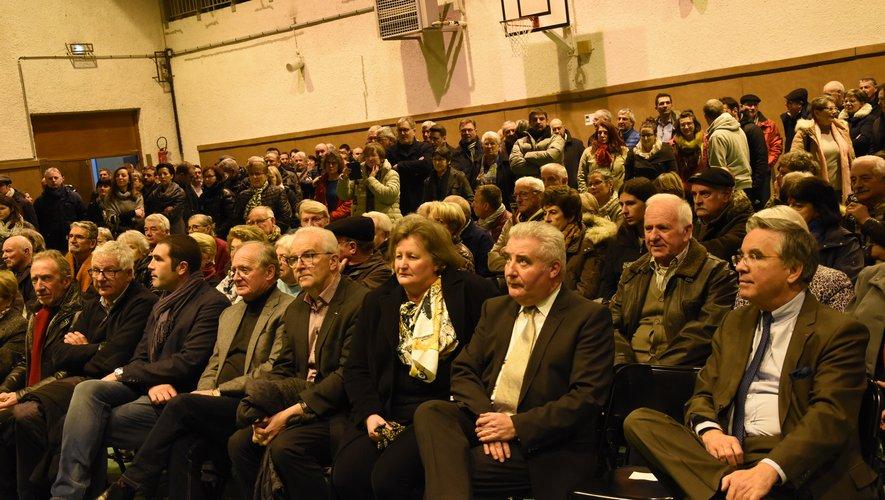 La population et les élus étaient au rendez-vous.