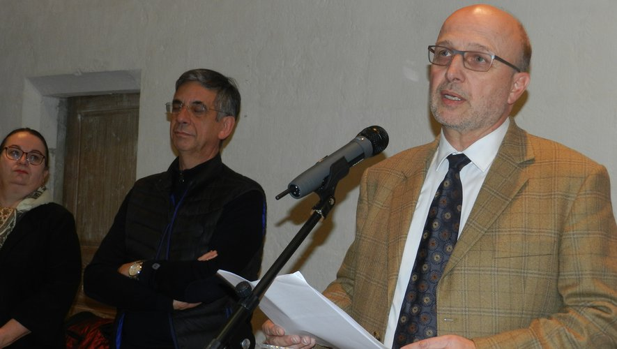 La nouvelle sous-préfète de l'arrondissement, Pascale Rodrigo, assistait à la cérémonie de vœux du directeur de l'hôpital.