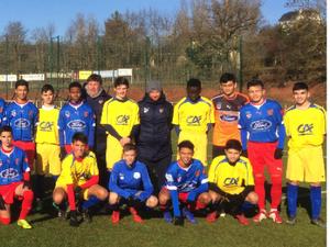 Onet-le-Château Football : les U17 ont remporté leur match amical face à l'équipe de Béziers