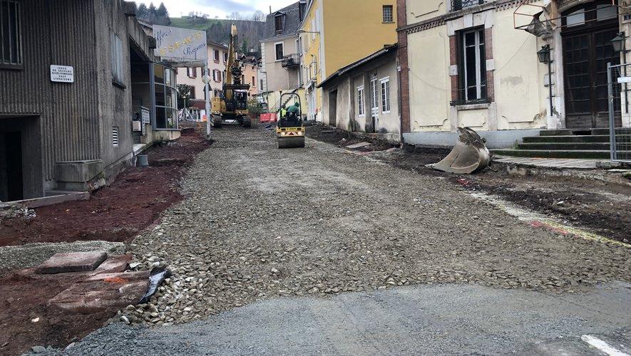 Les travaux ont repris dans la rue Cayrade et ses abords