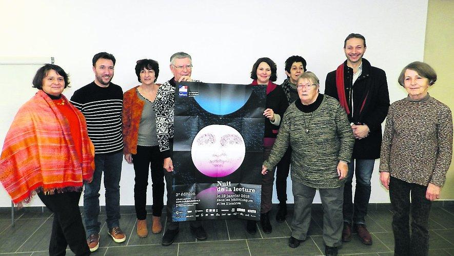 Les partenaires de « Nuit de la lecture » à Villefranche.