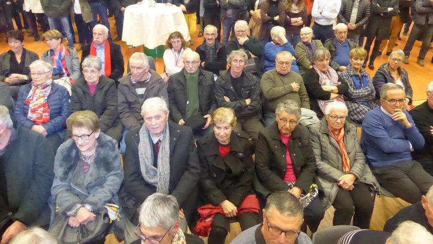 Les luco-primaubois furent nombreux à participer à cette cérémonie.