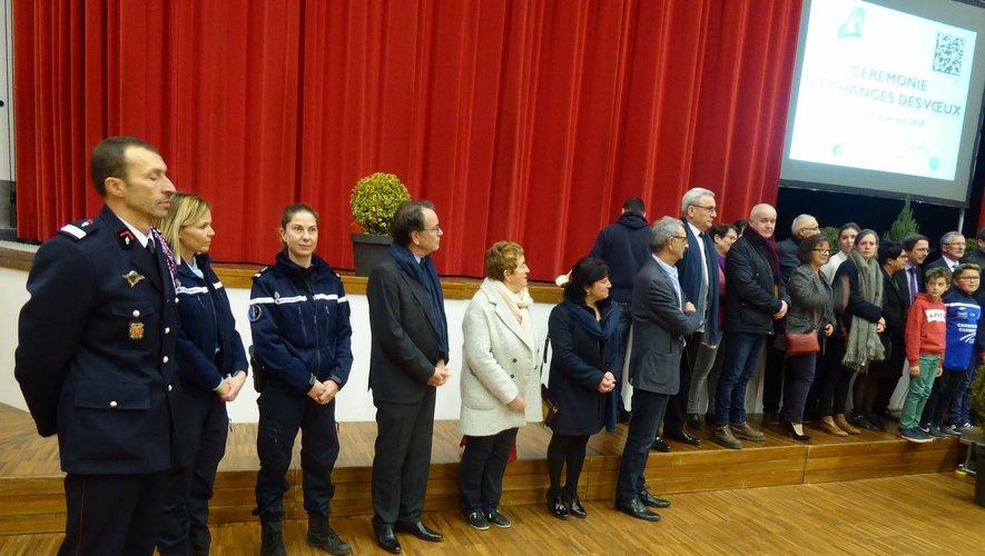 Une partie des personnalités du Grand Rodez étaient présentes.