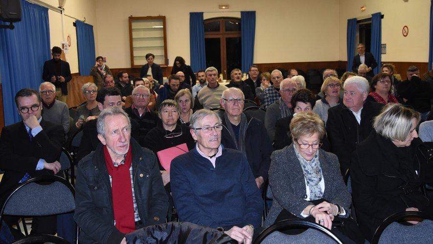 Électeurs et élus étaient au rendez-vous.
