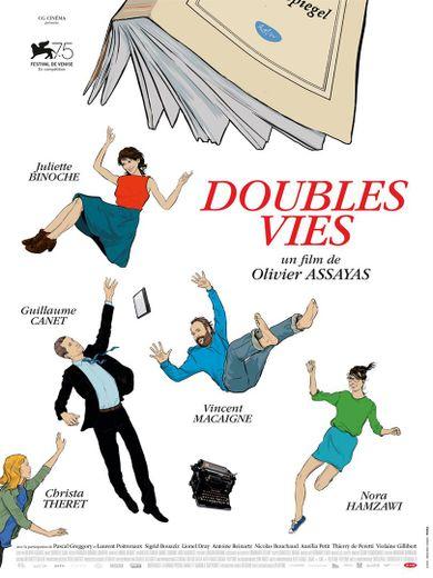 """""""Double Vie"""" d'Olivier Assayas sort mercredi au cinéma"""