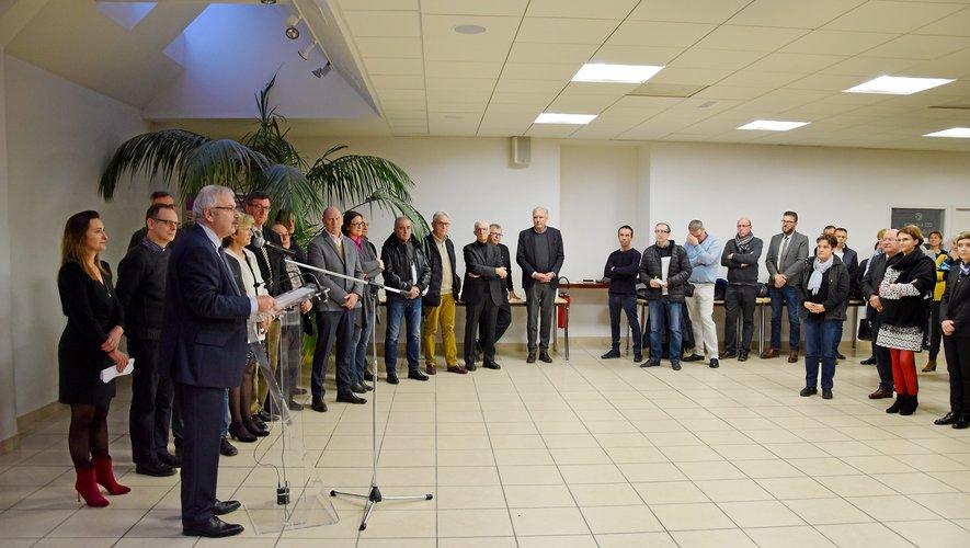 Des vœux dynamiques pour la CCI, lundi soir à Rodez.