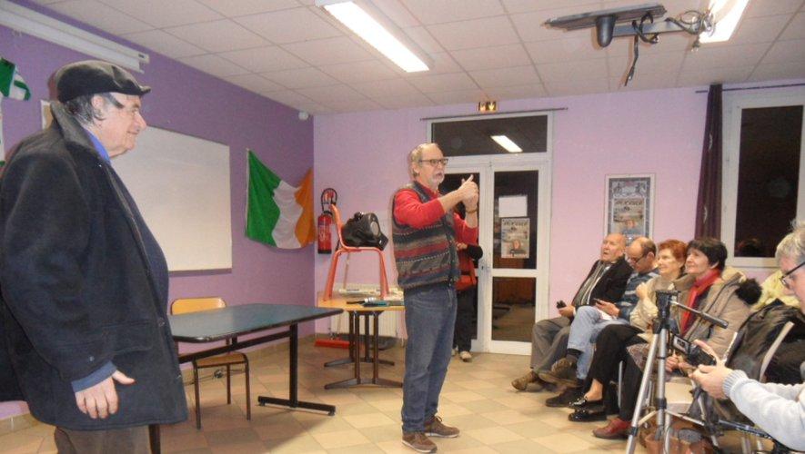 Reprise des conférences à la MFR avec René Duran.