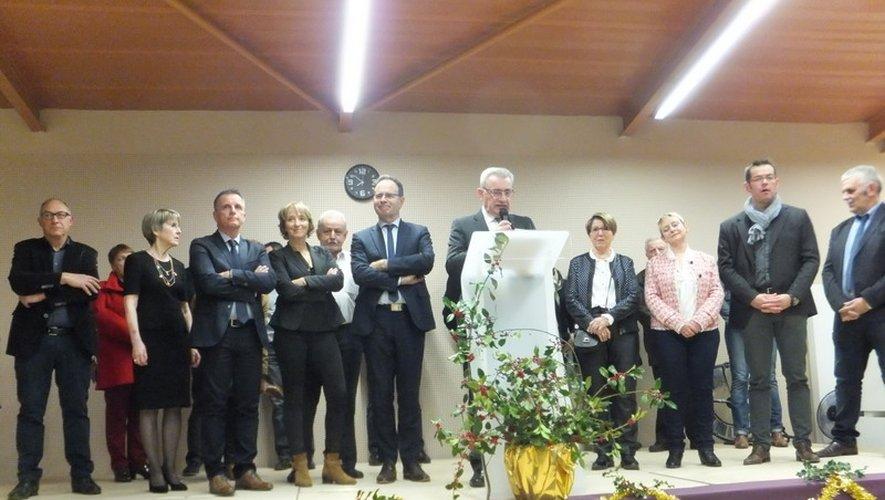 Le maire Hervé Costes a présenté les projet.