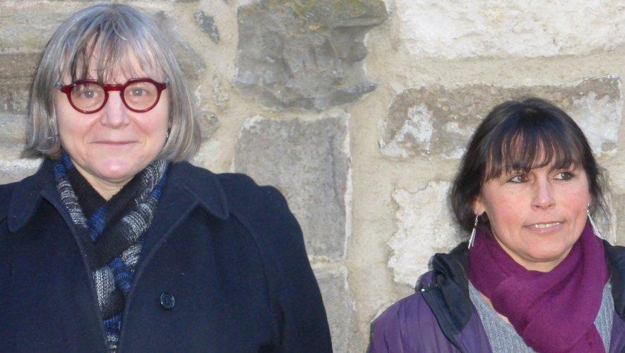 Marie-Pierre Guimontheil et Caroline Alanche