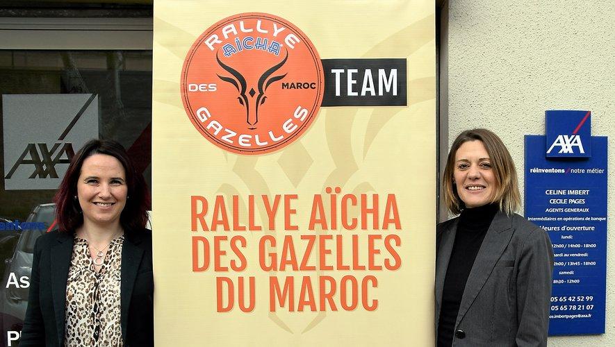 Cécile Pagès et Céline Imbert, un duo d'aventurières made in Rodez.