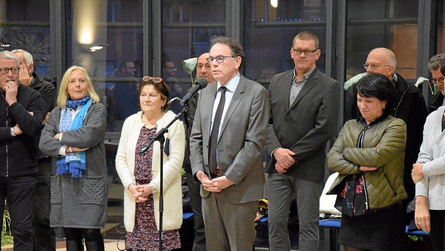 Lors de la cérémonie des vœux au personnel de la mairie, un hommage appuyé a été rendu à Pascal Filoé.
